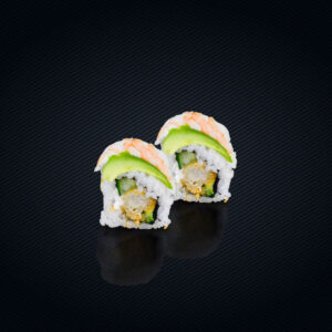 U24 Ebi Rainbow roll