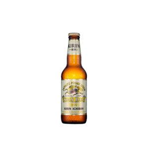Japansk øl- kirin ichiban. 33 cl.