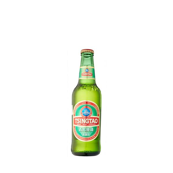 Kinesisk øl. - Qingdao 33 cl.