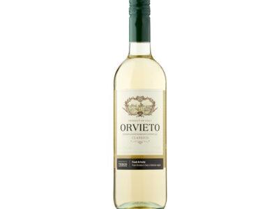 """Orvieto Classico DOC. """" Castellani"""" fra italien."""
